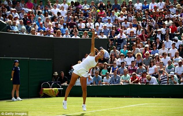 Ana Ivanovic đã có trận đấu mở màn rất dễ dàng