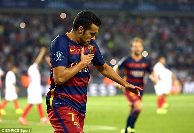 Pedro Rodriguez đang bị đối xử bất công tại Barcelona?