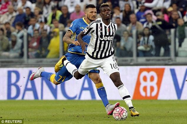 Paul Pogba không thể giúp Juventus tránh được thất bại trong trận đấu mở màn Serie A
