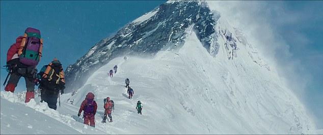 Một cảnh quay tuyệt đẹp trong Everest