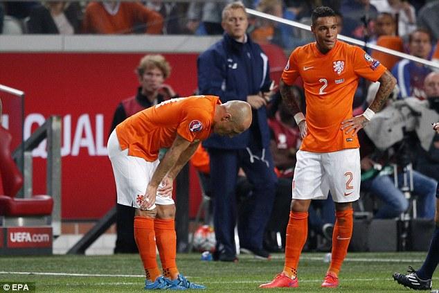 Đội tuyển Hà Lan còn rất ít cơ hội tham dự Euro 2016