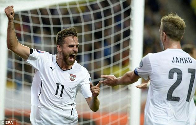 Đội tuyển Áo khẳng định sức mạch tuyệt đối tại bảng G
