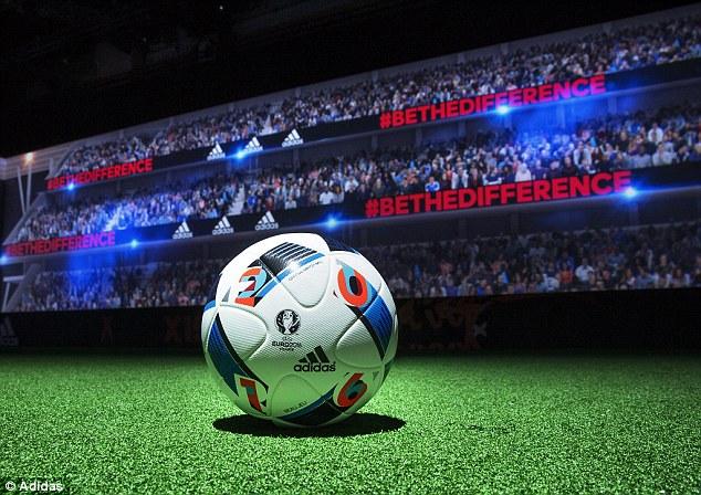 Beau Jeu - trái bóng của Euro 2016 đã được Adidas chinh thức giới thiệu