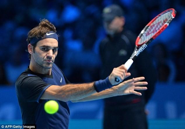 Federer đã khiến Djokovic phải nhận thất bại đầu tiên sau 3 tháng