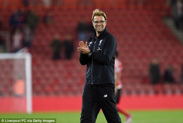 Liverpool đang thăng hoa dưới sự dẫn dắt của Jurgen Klopp