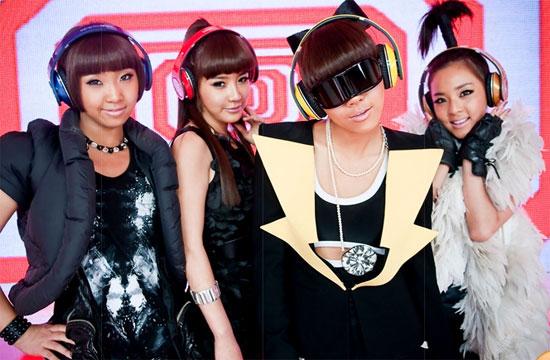 2NE1 ngày mới ra mắt khán giả