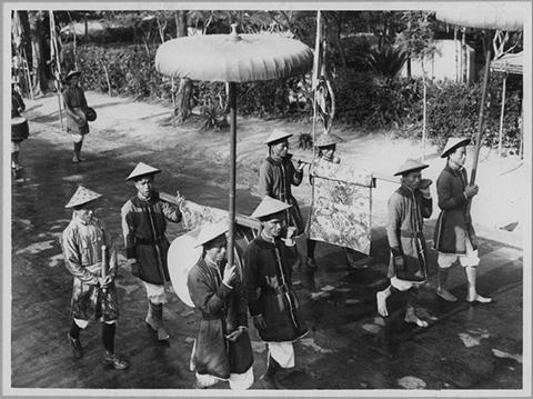 Lễ tế Nam Giao tại Huế.
