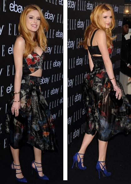 Bella Thorne cuốn hút với bộ váy của Donna Karan