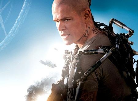 """Matt Damon trong bộ phim khoa học viễn tưởng """"Elysium"""" (2013)."""