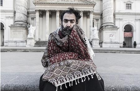 Người đàn ông đến từ thành phố Esfahan, Iran. (Ảnh: Saleh Rozati)
