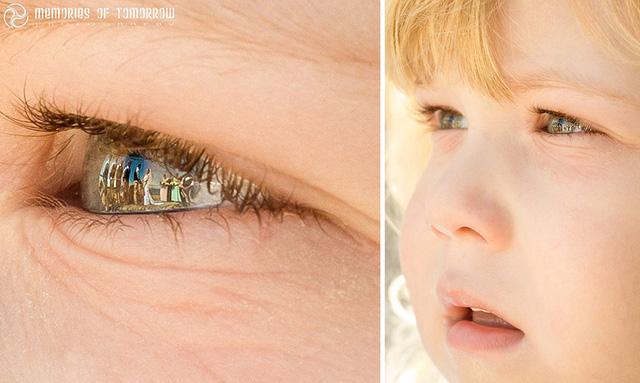 Ánh mắt trong veo của cậu con trai khi theo dõi lễ cưới của bố mẹ