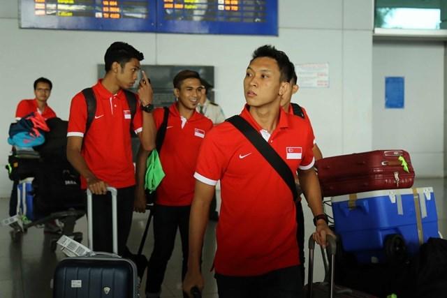 Các cầu thủ U21 Singapore