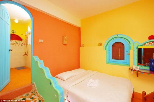 Một trong những phòng ngủ ở Anakato Nubian