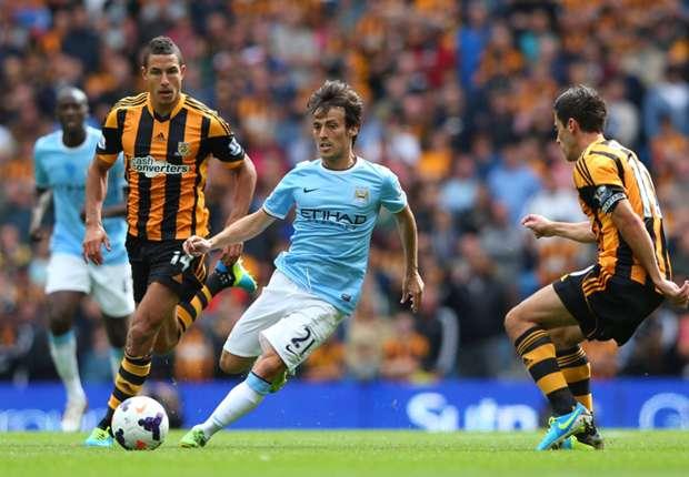 Chiến thắng sẽ trở lại với Man City khi đối thủ chủ là Hull City?