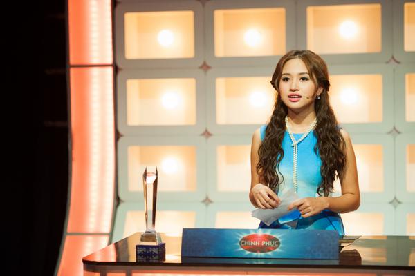 MC Thanh Vân của chương trình Chinh phục