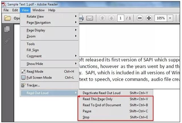 Adobe Reader cũng cung cấp thêm nhiều tùy chỉnh khác