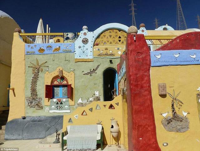 Nhà nghỉ cách sân bay quốc tế Aswan chừng 6 dặm