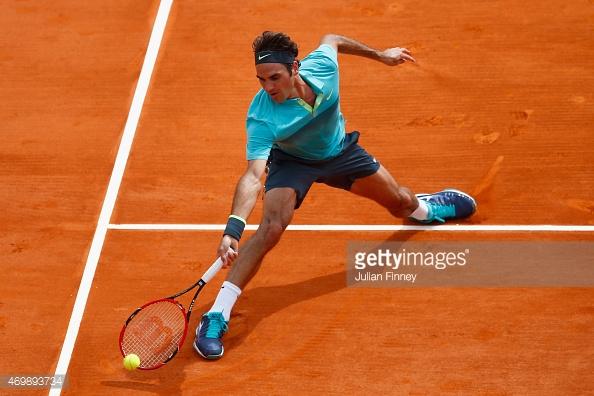 Roger Federer vẫn chưa thể một lần vô địch Monte Carlo Masters