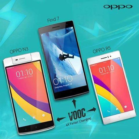 Oppo đã cho ra mắt hàng loạt smartphone tích hợp 4G