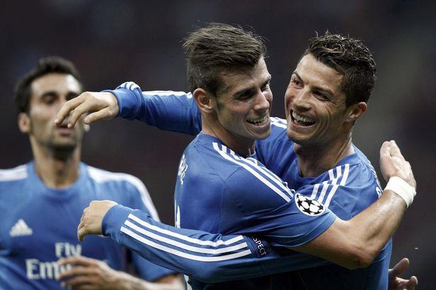 Cris Ronaldo và Gareth Bale vẫn đang rất đoàn kết?