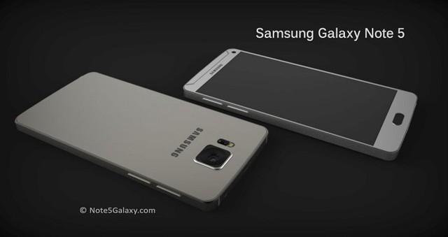 Ý tưởng thiết kế Galaxy Note 5