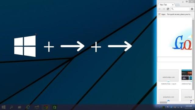 Cửa sổ Windows sẽ mở rộng ra phía dưới sau khi bị thu hẹp