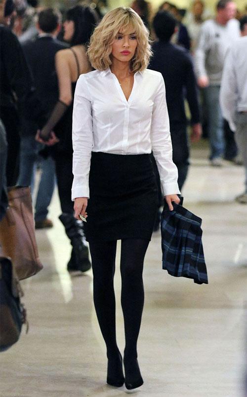 Trong phim, Megan Fox vào vai nữ nhà báo xinh đẹp April ONeil. Cô từng tuyên bố, sẽ chỉ tập trung vào nội tâm của nhân vật chứ không phô diễn ngoại hình quá mức.