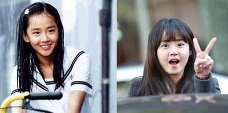Sao nhí Hàn Quốc: Xưa và Nay