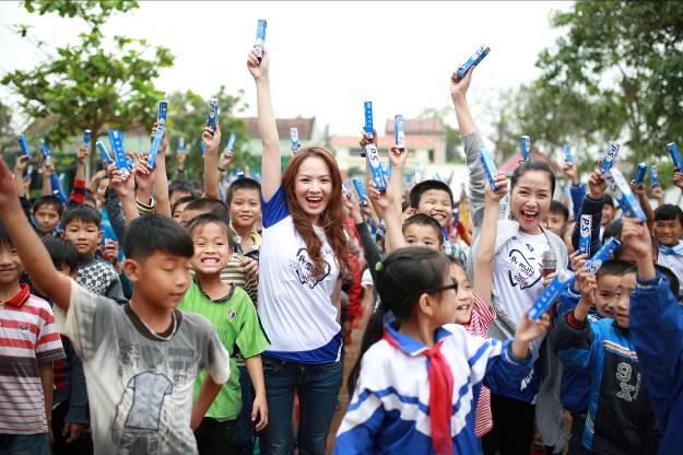 Trong nhiều năm qua, chương trình Bảo vệ nụ cười Việt Nam luôn mang trong mình sứ mệnh bảo vệ 23 triệu nụ cười Việt Nam tới năm 2020.