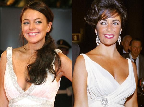 Cựu ngôi sao Disney - Lindsay Lohan - từng minh chứng sự trưởng thành trong diễn xuất với vai Elizabeth Taylor trong phim Liz and Dick.