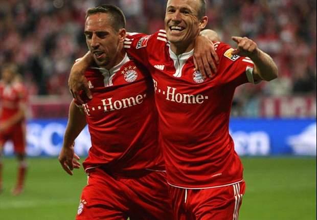 Bayern Munich sẽ mất cả Arjen Robben lẫn Franck Ribery