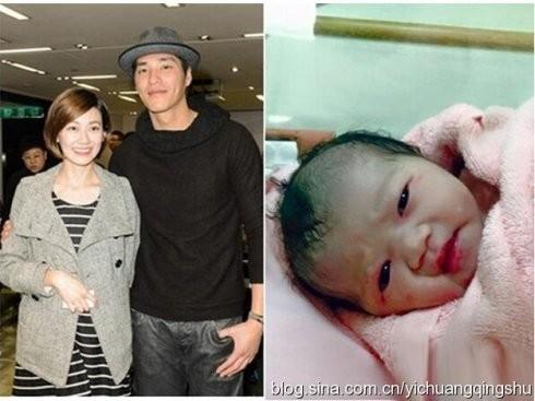 Vợ chồng Lam Chính Long và con gái.