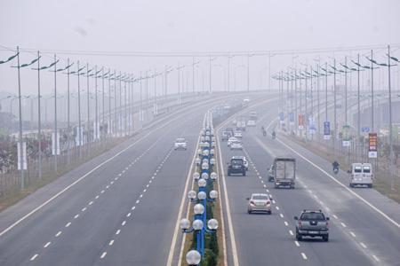 Tổng chiều dài đường là 12km, cho phép 6 làn xe chạy với vận tốc tối đa 80km/h.