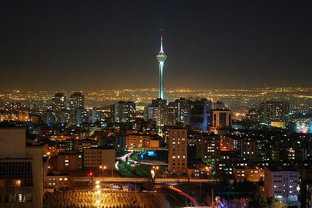 Tháp Milad, Iran cao 435m, khánh thành năm 2007 - Ảnh: ihr.org.