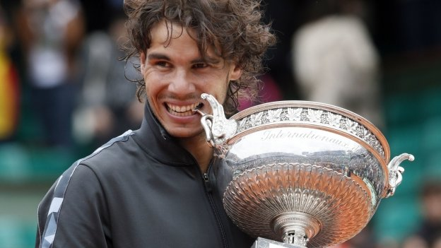 Rafael Nadal đã có 9 lần vô địch Pháp mở rộng