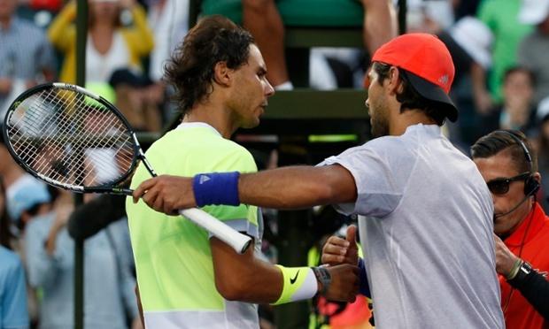 Nadal thất bại trước tay vợt đồng hương xếp hạng 34 thế giới Verdasco.
