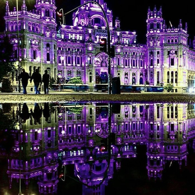 Vẻ huyền ảo tráng lệ ở Madrid, Tây Ban Nha