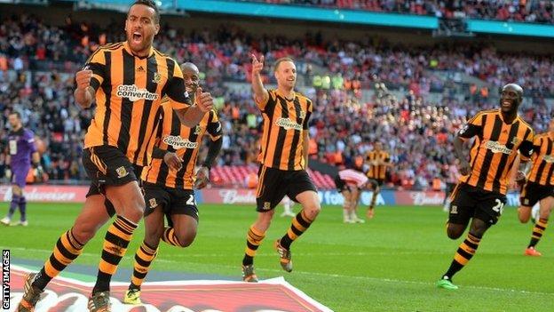 Hull City sẽ phải trở lại giải hạng Nhất?
