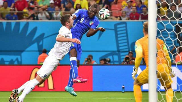 Trận thua 1-2 ở World Cup 2014 là thất bại gần nhất của ĐT Anh trước Italy