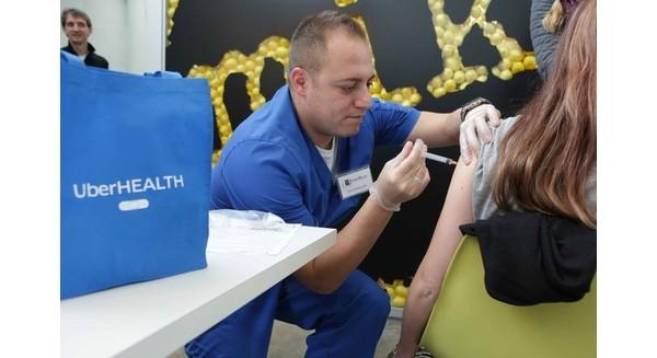Uber để thử nghiệm một chương trình tiêm phòng vắc-xin tại 4 thành phố của Mỹ. (Ảnh: Tri thức trẻ)