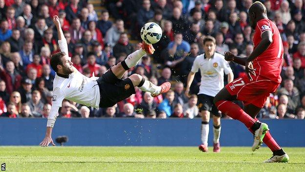 Juan Mata đoạt danh hiệu cầu thủ có bàn thắng đẹp nhất mùa giải