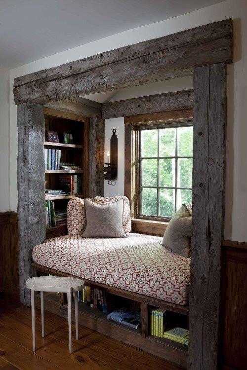 Một chút thô mộc của gỗ được mang vào căn nhà qua thiết kế này