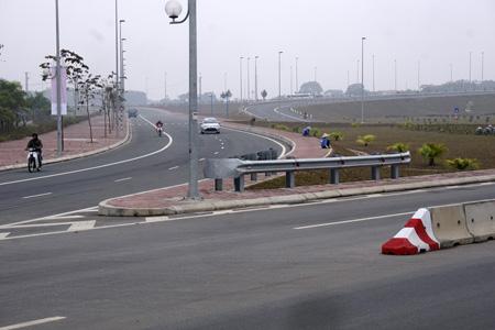Nút giao Vĩnh Ngọc hình hoa thị nối với QL5 kéo dài trên đường Võ Nguyên Giáp.