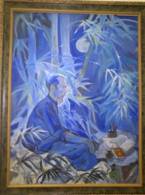 Đêm nay Bác không ngủ, tranh Bùi Trang Nghi.