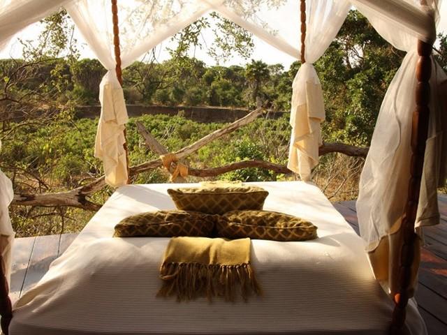 Hòa mình với thiên nhiên khi nghỉ dưỡng ở khách sạn Beho Beho, Tanzania.