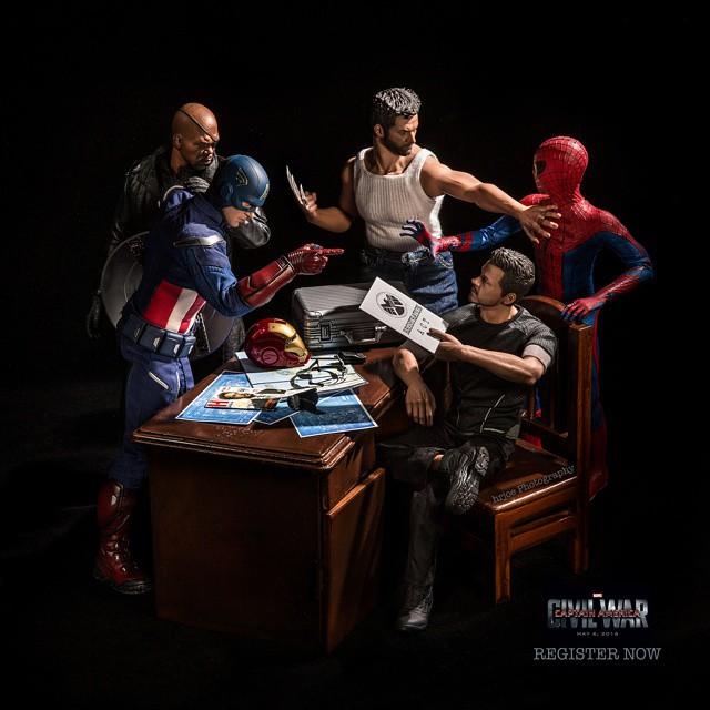 Các siêu anh hùng cãi nhau trong Civil War