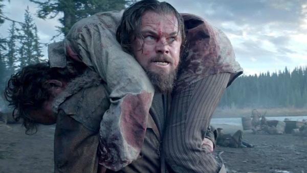 Leonardo Dicaprio trong một cảnh quay của phim.