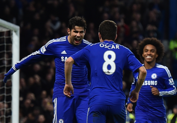 Chelsea vẫn tỏ ra không có đối thủ tại giải Ngoại hạng Anh