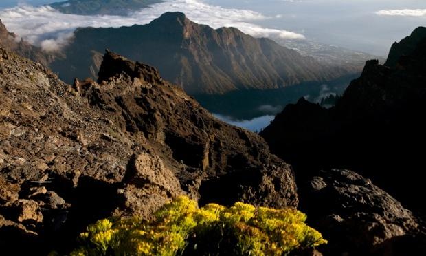 Caldera de Taburiente, quần đảo Canary. Nguồn: Tino Soriano/National Geographic Creative/Corbis