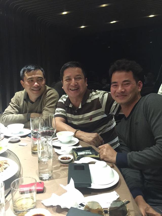(Từ trái sang) Đạo diễn Đỗ Thanh Hải, NSƯT Chí Trung, diễn viên Xuân Bắc